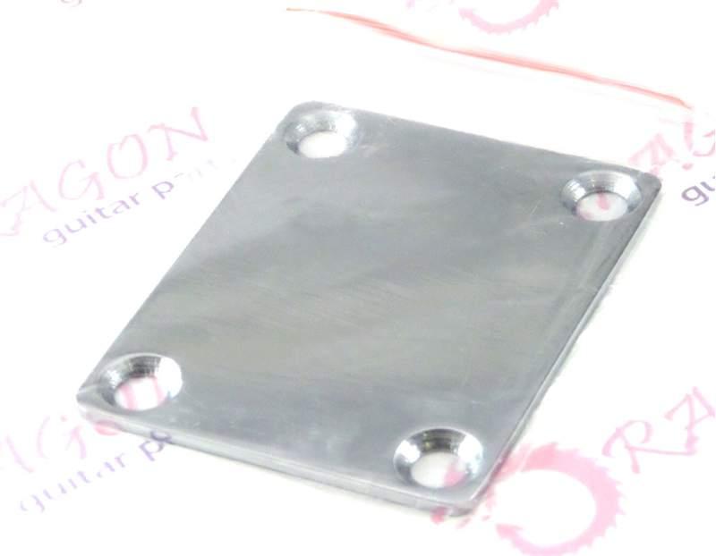 Steel Neckplate (with screws) Chrome