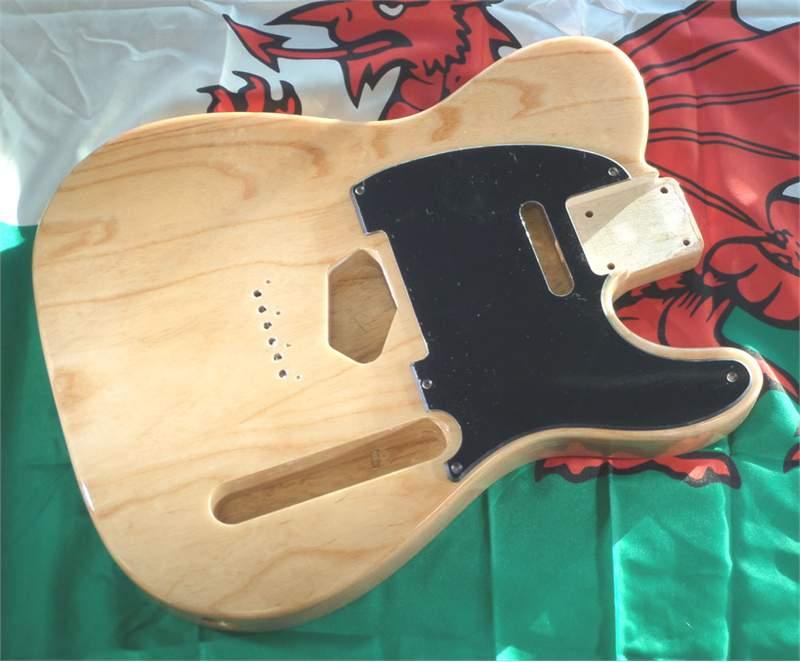 telecaster guitar body ash body telecaster style 2