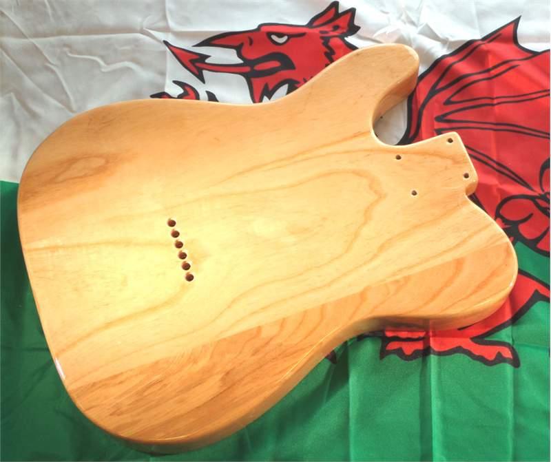 telecaster guitar body ash body telecaster style 3