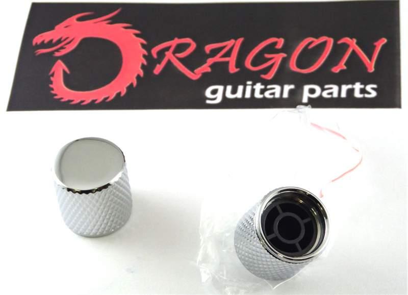 Telecaster guitar knobs chromed guitar knobs telecaster 1